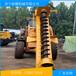 山东济宁电线杆打桩机载电线杆打桩机3吨电线杆打桩机