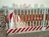 基坑护栏工地围挡铁马护栏电梯安全门草坪护栏pvc护栏