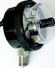 YXF-75A0104防腐型塑壳电接点压力表北京布莱迪BLD防腐型塑壳电接点压力表现货