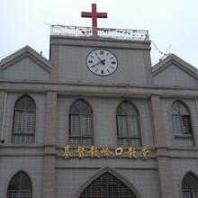 衡水户外广场大钟图片