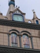 长沙户外烟台启明车站大钟售后图片