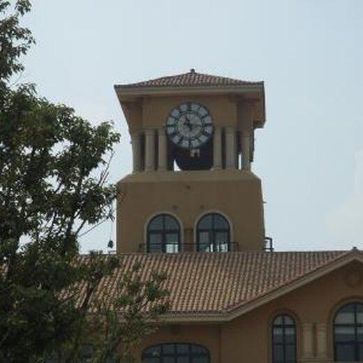 钟楼大钟安装图