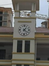 塔楼大钟建筑塔钟学校大钟维修更换烟台启明时钟科技有限公司