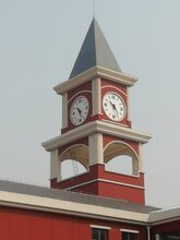塔钟建筑钟景观钟,无锡广场LED夜光塔钟服务至上