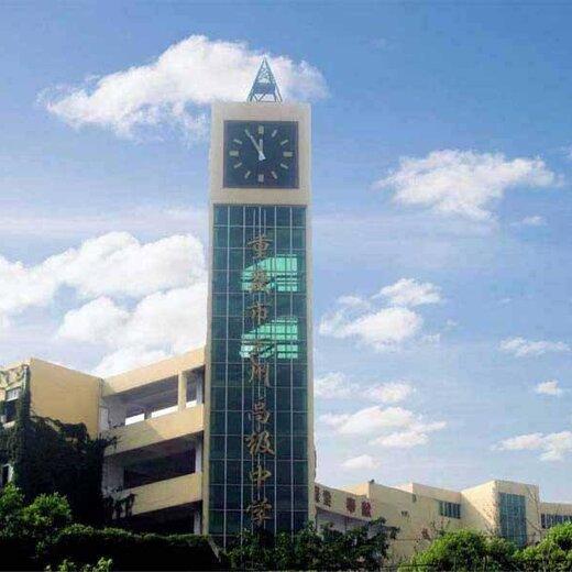 塔楼大钟图