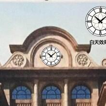重慶廣場LED夜光塔鐘維修圖片