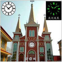 重慶多功能LED夜光塔鐘質量保證圖片