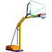 供应商直销学校村委会专用埋地式篮球架移动凹箱篮球架