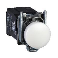 供應施耐德代理商XB2BW31B1C按鈕開關指示燈ZB2BW31C+ZB2BWB11C帶燈按鈕24v圖片