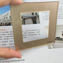 深圳厂家直销亚克力开关面板,PC指纹锁面板