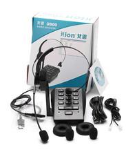 北恩u800呼叫中心電腦彈屏錄音電話機座機辦公客戶管理系統話務機圖片