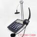 Calltel科特爾CT-2200話盒呼叫中心耳麥耳機電話機客服話務盒