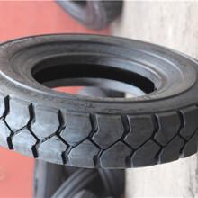 亚盛充气叉车轮胎10.00-20工业叉子车轮胎块状花纹