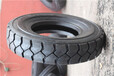 亚盛充气叉车轮胎21X8-9工业叉车轮胎21X8-9块状花纹