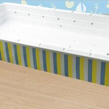 组装亚克力恒温儿童游泳池亚克力婴幼儿游泳池婴儿游泳池