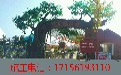 生态园假树大门制作生态园假树设计生态园假山施工