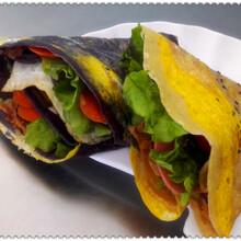 全国特色小吃免费加盟连锁绿色健康时尚午娘果蔬营养煎饼
