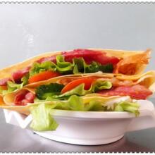 想要免费加盟特色小吃店,来千首创业扶持多,午娘果蔬营养煎饼