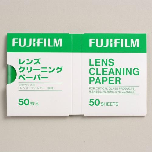 LENSCLEANINGPAPER50枚入日本FUJIFILM透镜擦拭纸