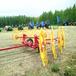 内蒙古直销大型弹指搂草机指盘式牧草收集机器秸秆搂草机