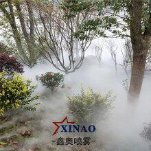 XA70庭院景区高压造雾机景区公园造雾系统景观人造雾喷雾设备图片