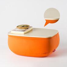 韩国原产JOODESIGN靠垫创意靠垫桌ABS塑料款橙色