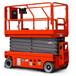 自行剪叉式高空作业平台全自行式升降机液压剪叉式升降平台
