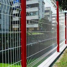 公园护栏网,三角折弯护栏网厂家直销,规格齐全,可订做图片