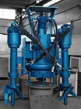 泉祥挖掘机配套吸泥泵、钩机(勾机)泥浆泵厂家-带搅拌器泥沙泵