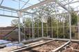玻璃温室大棚骨架制作智能联动玻璃温室骨架厂家