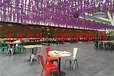 文絡式玻璃溫室生態餐廳大棚建設廠家