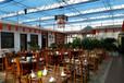 玻璃温室生态餐厅,PC阳光板生态餐厅大棚