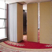 湖北酒店移动隔断墙饭店包厢活动隔断免费测量设计安装图片