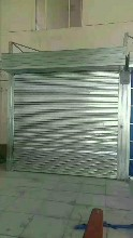 北京东城区车库门地库快速门商铺卷帘门销售安装图片