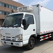 厂家直销东风多利卡冷藏车4.2米箱长102马力
