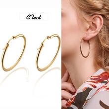 时尚潮流圆圈大耳环欧美个性圆形圈耳环圆环耳环圆形夸张耳环