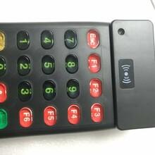 CMD-706U黑色带小键盘IC卡查询机IC卡读卡器IC感应卡读卡器图片