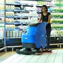 濟寧供應容恩R70BT倉庫用手推式洗地機、電瓶式全自動洗地機圖片