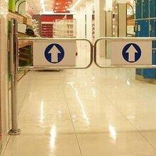 超市圆柱摆闸门禁机,超市感应门