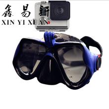 潛水面罩全干式浮潛面罩成人潛水鏡攝像GOPRO潛水面罩防霧圖片