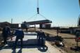 毕节电子地上衡载重120-150吨搅拌站用秤