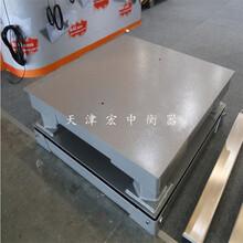 新疆缓冲平台秤承载5吨双层地磅抗冲压图片
