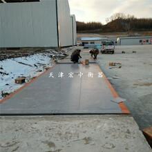 张家口建筑工地电子地中衡3X18米100吨包安装报价