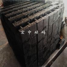 江西钢厂配重砝码25kg带调整腔图片