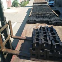 湖南中铁局砝码25kg带调整腔动车配重块图片