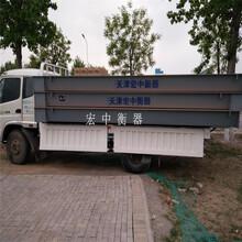 昌吉电子汽车衡3X21米150吨机械厂计重器图片