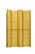 高分子仿古瓦--筒瓦--藏金色主瓦--仿古瓦-筒瓦-小青瓦-屋面瓦-装饰瓦