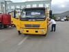 东风多利卡落地式一拖二156马力事故救援车道路救援车托板车