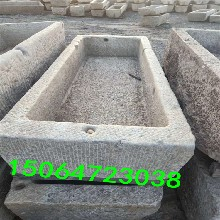 老石头旧石槽,老槽子,各种石槽搭配的生态小水景鱼缸图片