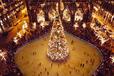 长沙圣诞树布展绚丽夜晚风景圣诞树出租